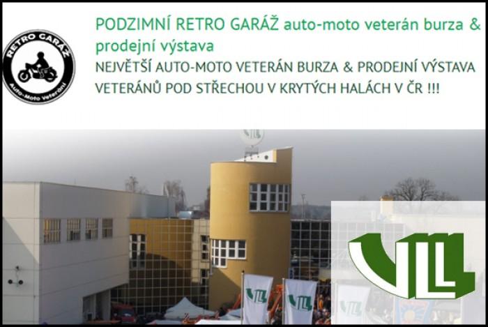 23.11.2019 - Auto-moto veterán burza & prodejní výstava - Lysá nad Labem