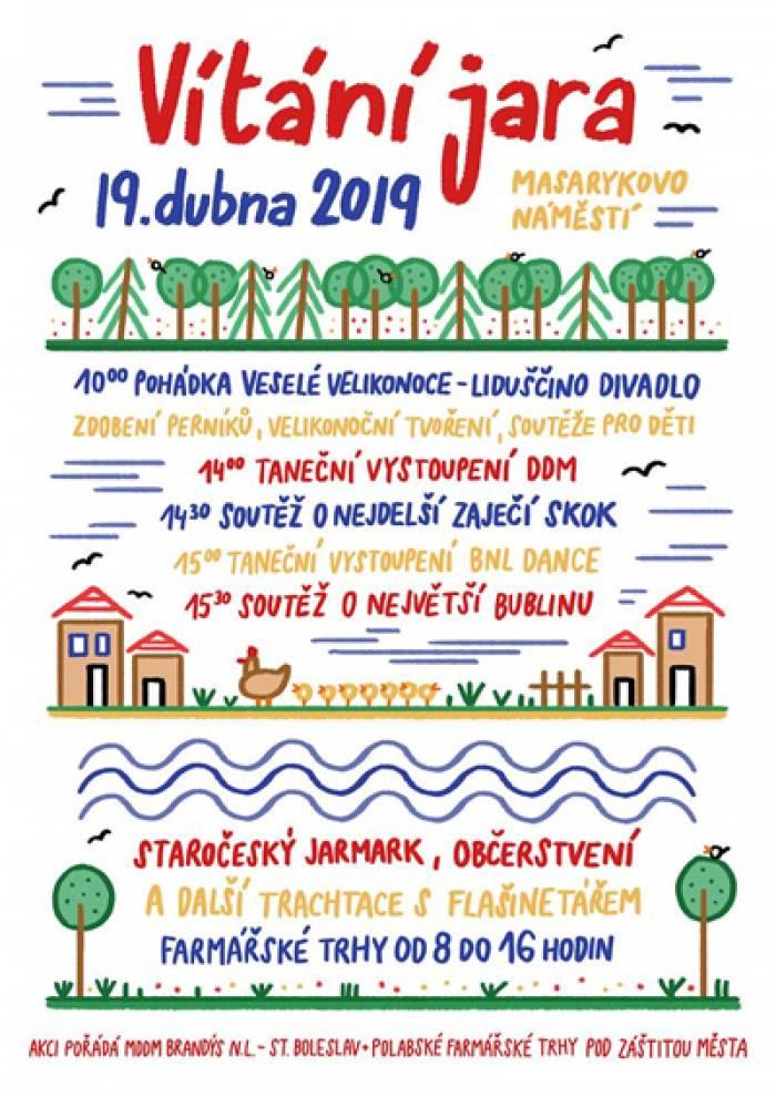 19.04.2019 - Vítáme jaro na náměstí - Brandýs nad Labem