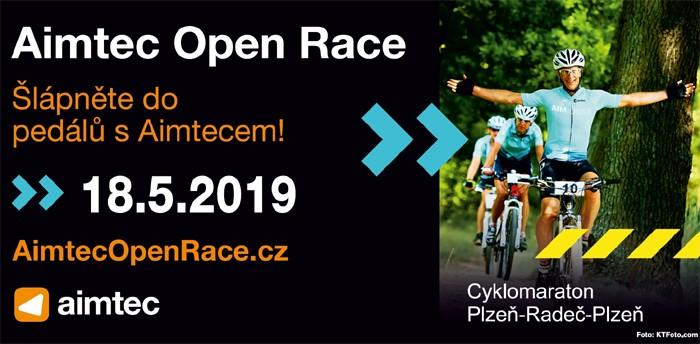 AIMTEC Open Race - Cyklomaraton Plzeň-Radeč-Plzeň