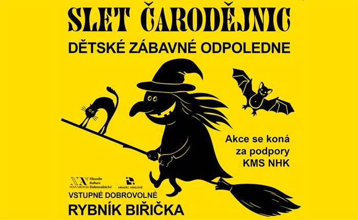 SLET ČARODĚJNIC - Pro děti / Hradec Králové
