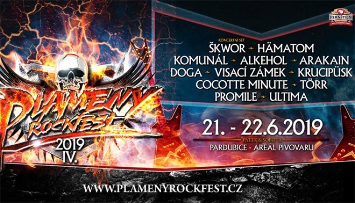 Plameny Rockfest 2019 - Pardubice