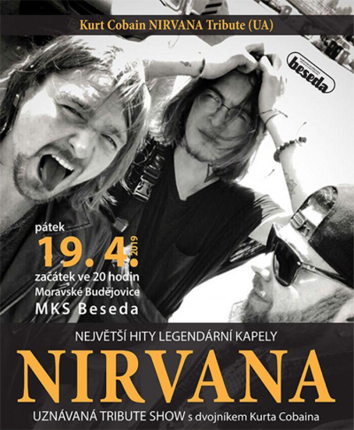19.04.2019 - Kurt Cobain NIRVANA Tribute (UA) -  Moravské Budějovice