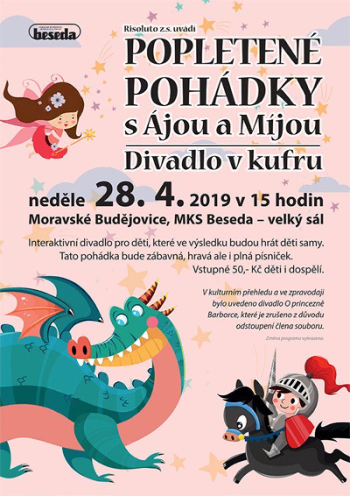 POPLETENÉ POHÁDKY s Ájou a Míjou -  Moravské Budějovice