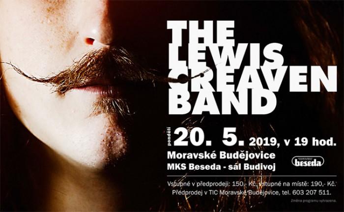 20.05.2019 - Lewis Creaven Band (UK) -  Koncert / Moravské Budějovice