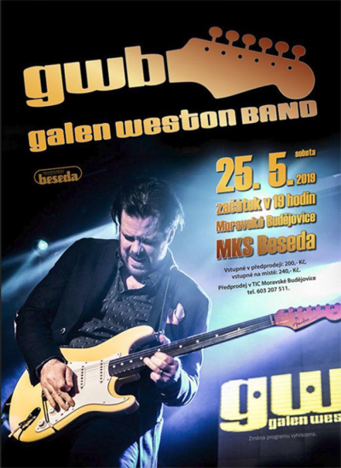 25.05.2019 - Galen Weston Band -  Koncert / Moravské Budějovice