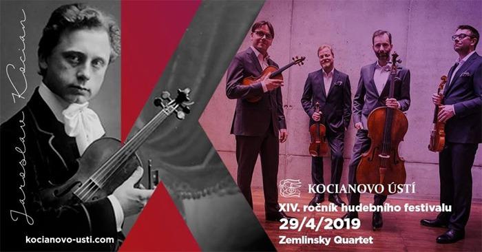 ZEMLINSKY QUARTET - Koncert / Ústí nad Orlicí
