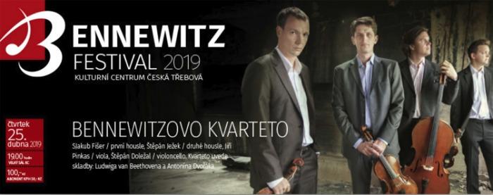 25.04.2019 - BENNEWITZ: Bennewitzovo kvarteto - Festival / Česká Třebová