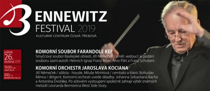 BENNEWITZ: Kojk a Komorní soubor Farandole Kef / Česká Třebová