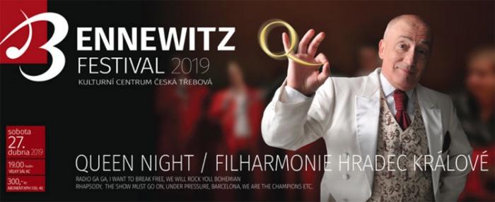 BENNEWITZ: Queen night - Filharmonie Hradec Králové / Česká Třebová