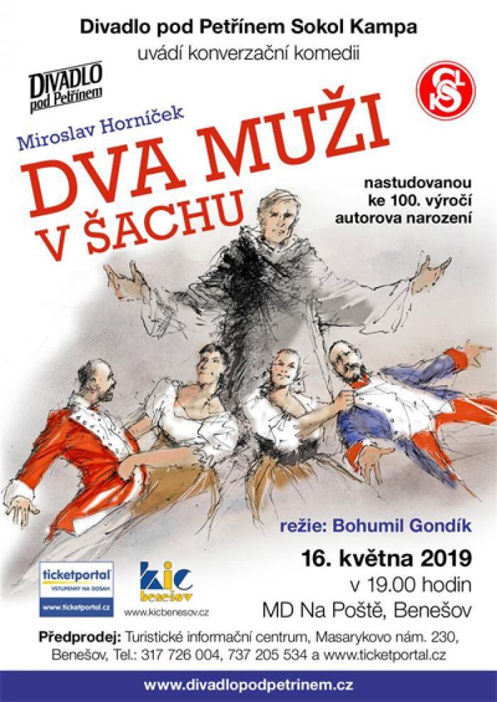 Dva muži v šachu - Divadlo / Benešov