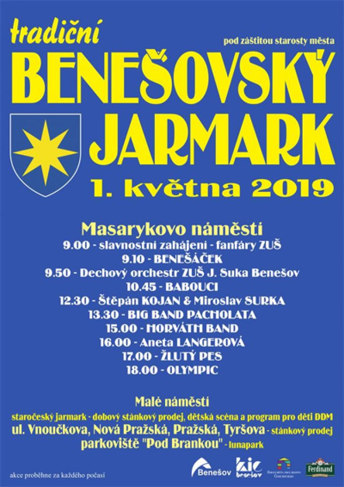 01.05.2019 - Benešovský jarmark 2019