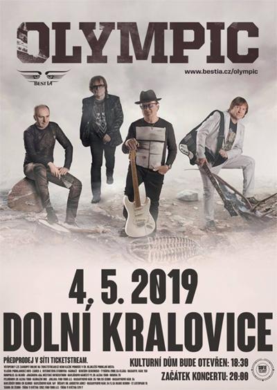 04.05.2019 - OLYMPIC - Koncert / Dolní Kralovice