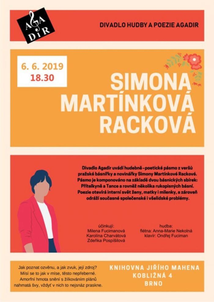 06.06.2019 - Agadir uvádí... Simona Martínková Racková - Brno