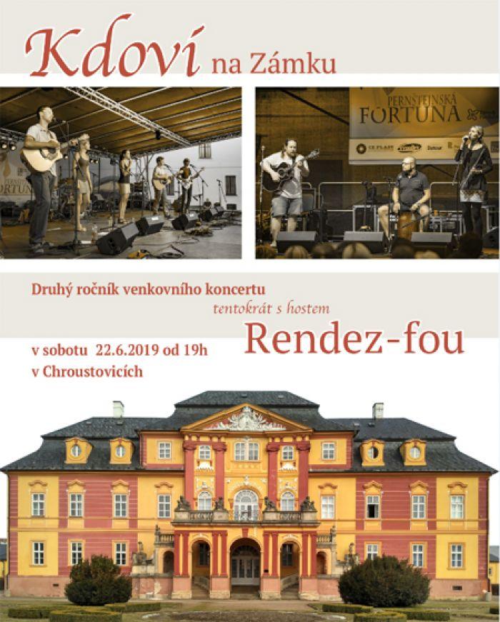 22.06.2019 - Koncert dvou kapel na Chroustovickém zámku