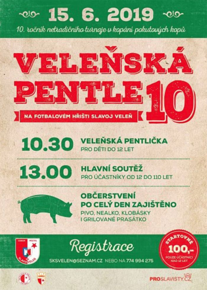 15.06.2019 - Veleňská Pentle 2019 - 10. ročník