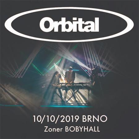 10.10.2019 - Orbital (UK) - Koncert / Brno