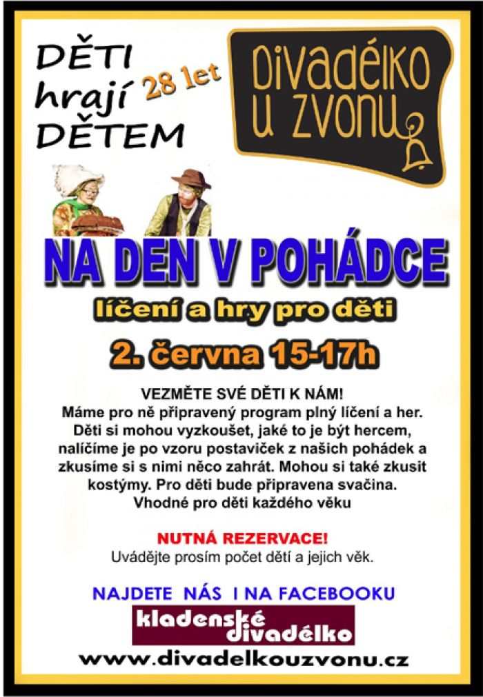 02.06.2019 - Na den v pohádce - Pro děti / Kladno