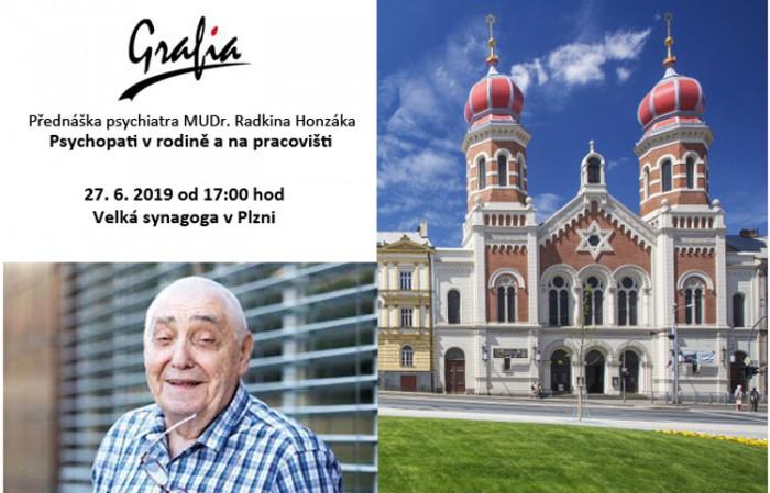 27.06.2019 - Psychopati v rodině a na pracovišti - Přednáška / Plzeň