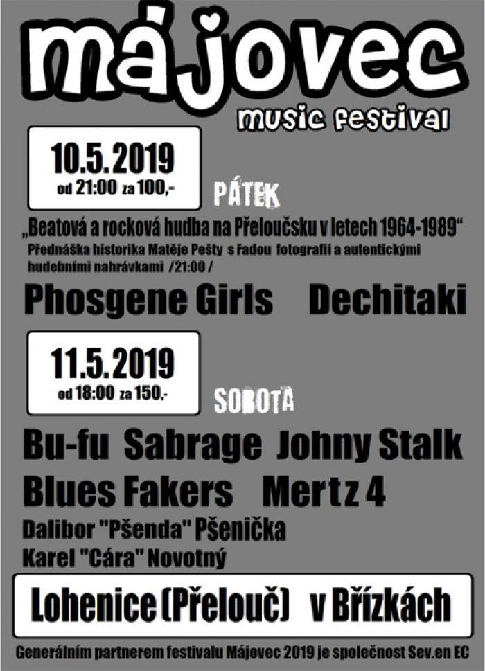 10.05.2019 - Májovec - Hudební festival / Lohenice u Přelouče