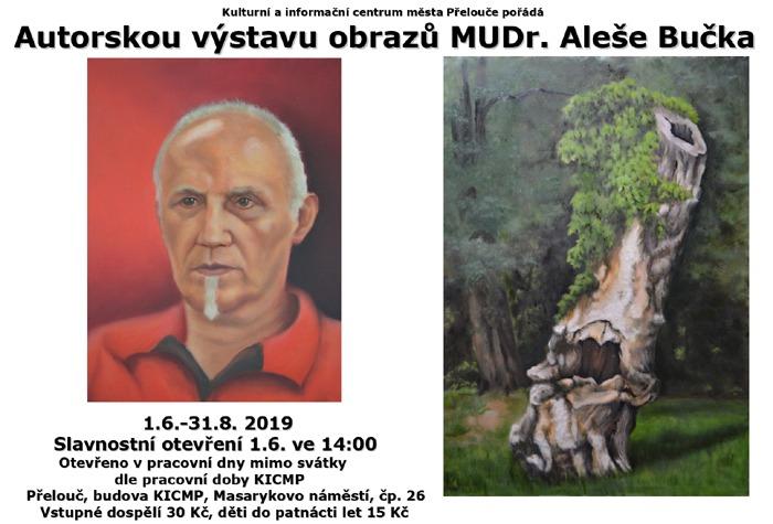 01.06.2019 - MUDr. ALEŠ BUČEK - Výstava / Přelouč