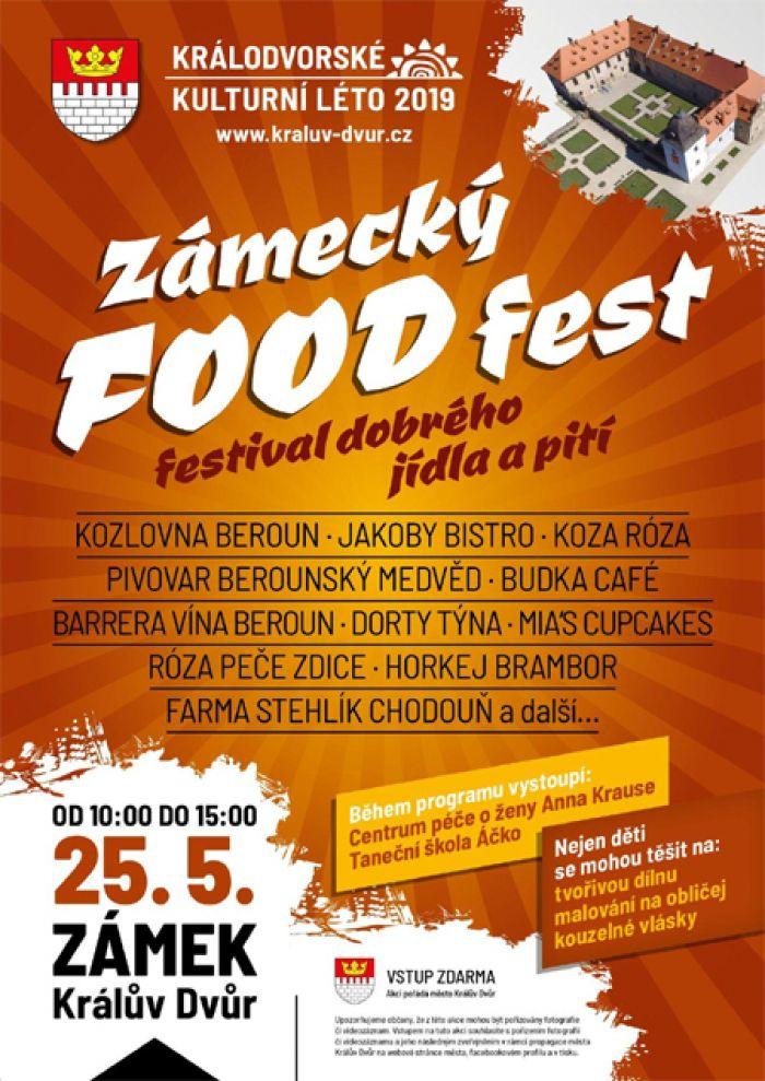 25.05.2019 - Zámecký food fest 2019 - Králův Dvůr