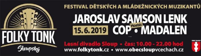 Sloupský FolkyTonk 2019 - Sloup v Čechách