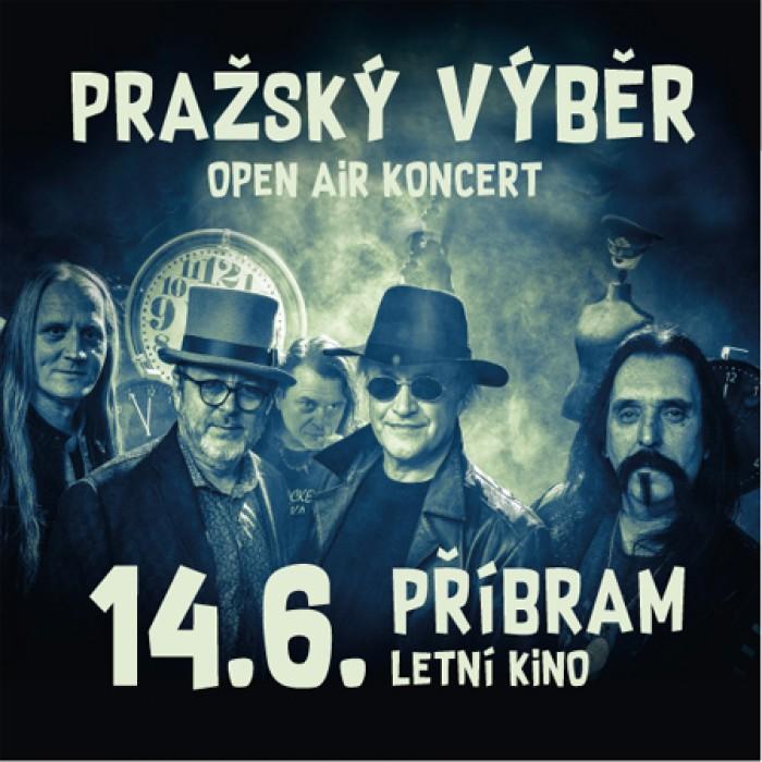 14.06.2019 - PRAŽSKÝ VÝBĚR,Origami, Pakáš - Koncert  /  Příbram
