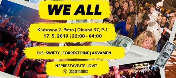 17.05.2019 - WE ALL Swifty, Forrest Pine, Akvamen - Praha