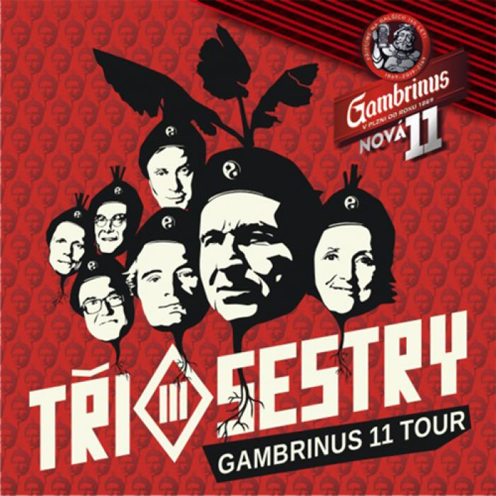 Tři sestry Gambrinus 11° tour  - Holkov
