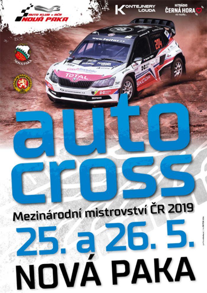 25.05.2019 - AUTOCROSS 2019 /  Nová Paka - Štikov