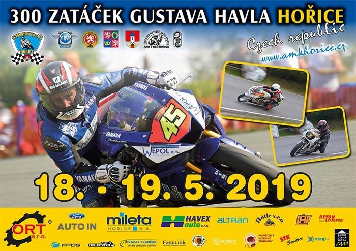 18.05.2019 - 57. ročník 300 zatáček Gustava Havla  - Hořice