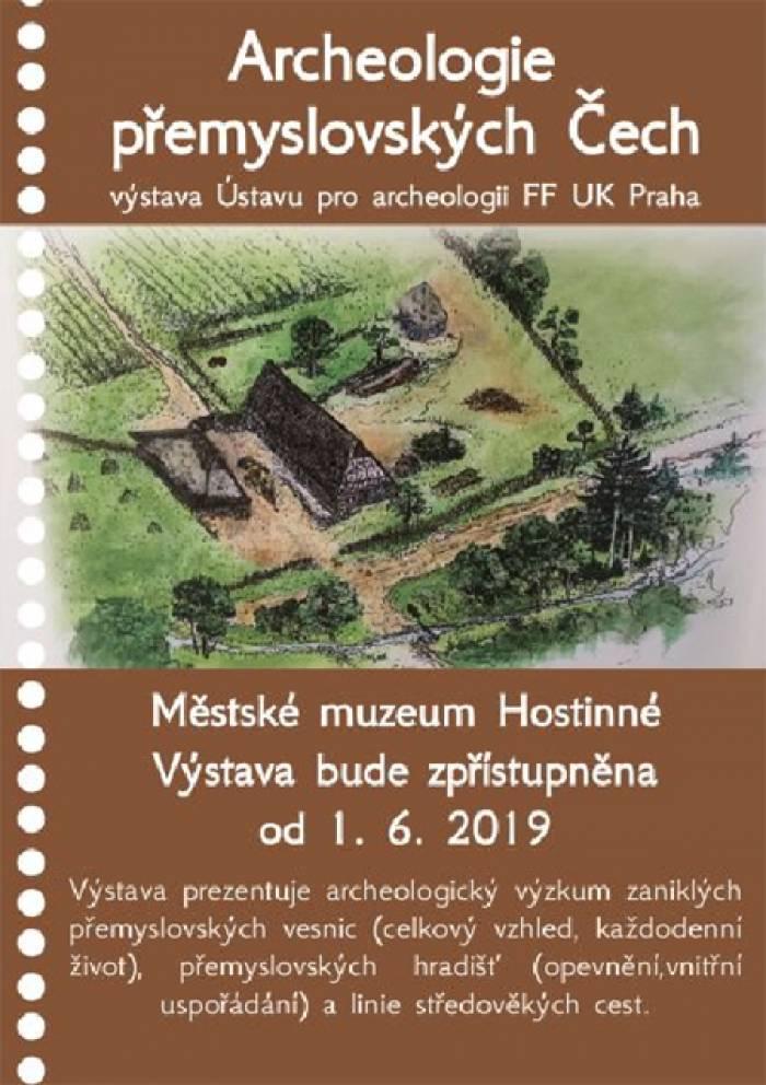 01.06.2019 - Archeologie přemyslovských Čech v Hostinném