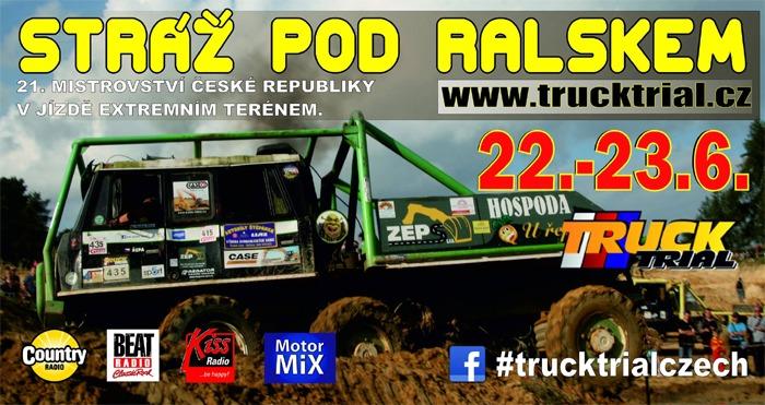 22.06.2019 - 21. Mistrovství ČR v Truck trialu - Stráž pod Ralskem