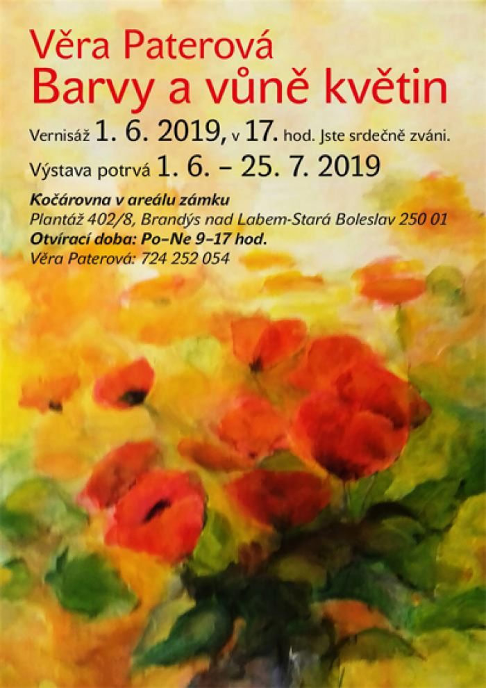 12.06.2019 - Barvy a vůně květin - Výstava  / Brandýs nad Labem