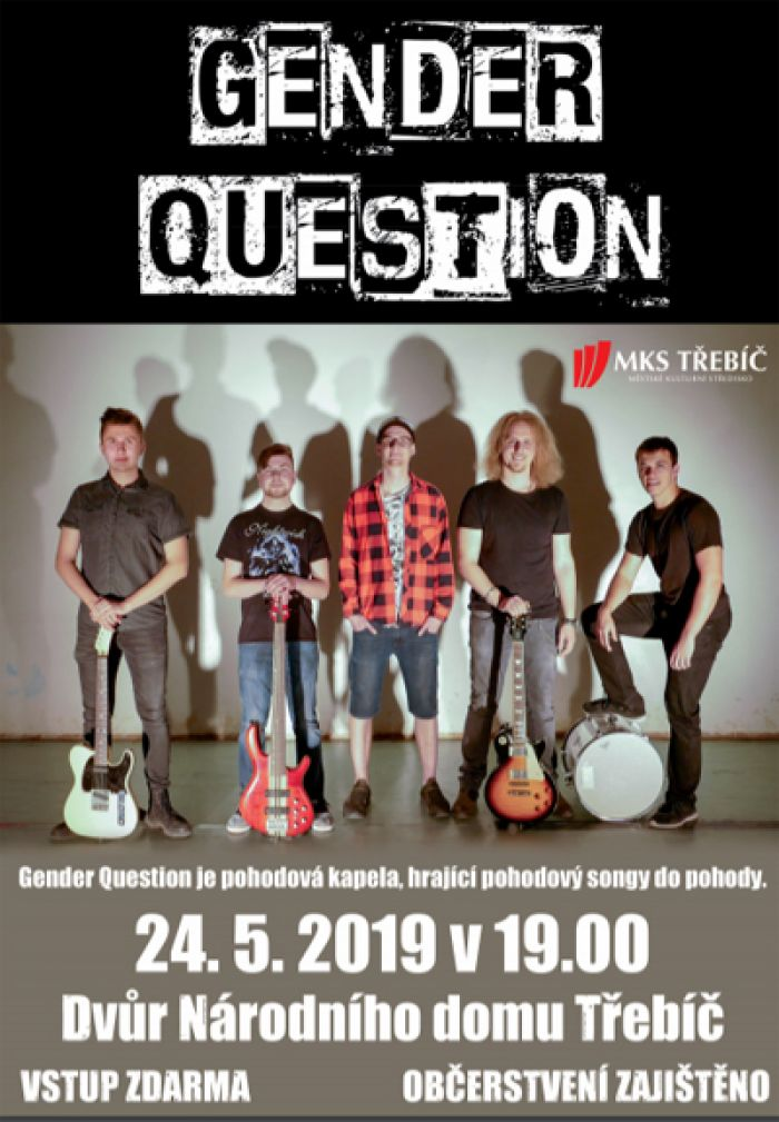 GENDER QUESTION - Koncert / Třebíč