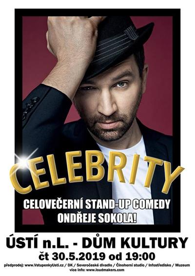 Ondřej Sokol: Stand-up comedy / Ústí nad Labem