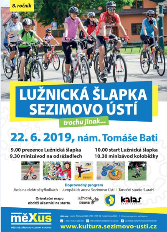 Lužnická šlapka 2019 - Sezimovo Ústí