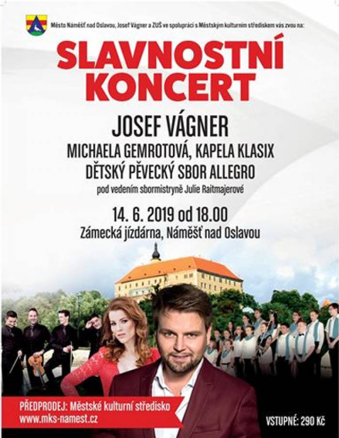 14.06.2019 - Slavnostní koncert - Náměšť nad Oslavou