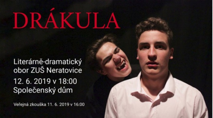 12.06.2019 - Bram Stoker: DRÁKULA / Neratovice