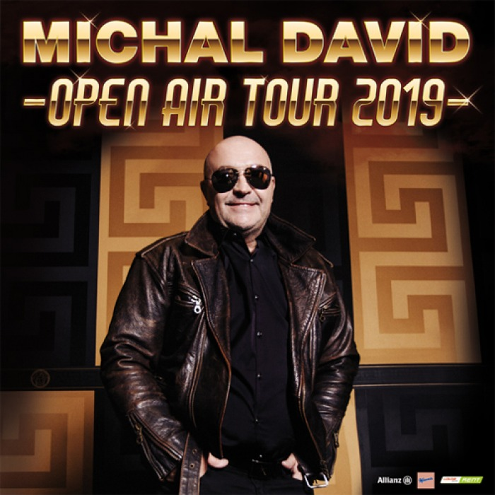 21.06.2019 - MICHAL DAVID OPEN AIR TOUR 2019 - Tvrdonice