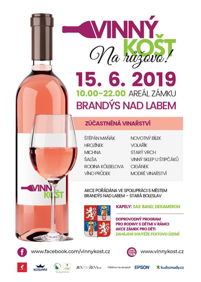 15.06.2019 - Vinný košt na růžovo / Brandýs nad Labem