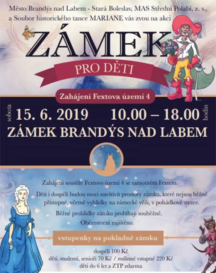 15.06.2019 - Zámek pro děti; Zahájení Fextova území 4 / Brandýs nad Labem