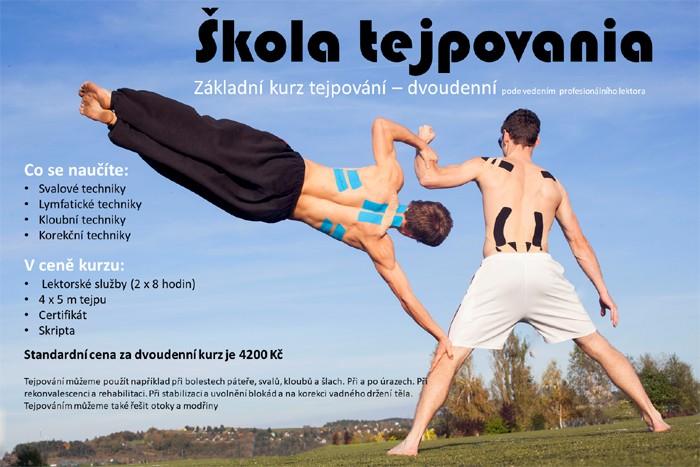 Tejpování - základní kurz / Liberec