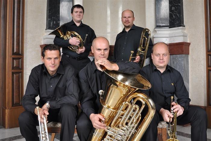 23.06.2019 - Czech Brass Festival - BrassFive / Brandýs nad Labem