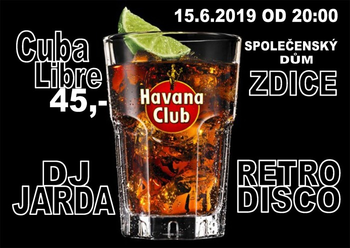 15.06.2019 - Retro DISCO / Zdice