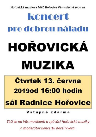 13.06.2019 - Pro dobrou náladu - Koncert / Hořovice