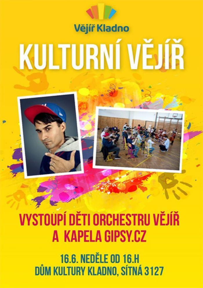 16.06.2019 - Orchestr Vějíř a Gypsy.cz - Kladno