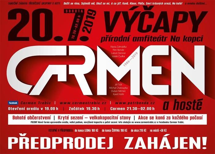 20.07.2019 - Carmen - Koncert / Výčapy