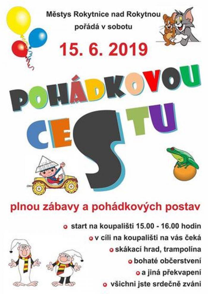 15.06.2019 - Pohádková cesta - Pro děti / Rokytnice nad Rokytnou