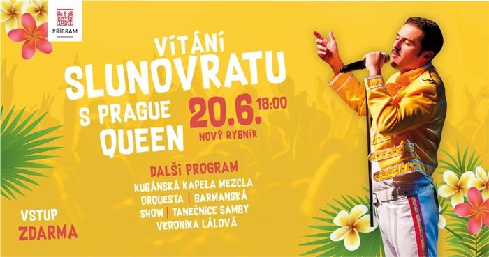 20.06.2019 - Vítání slunovratu s Prague Queen - Příbram